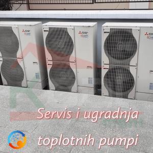 Servis Ugradnja i Prodaja Toplotnih pumpi